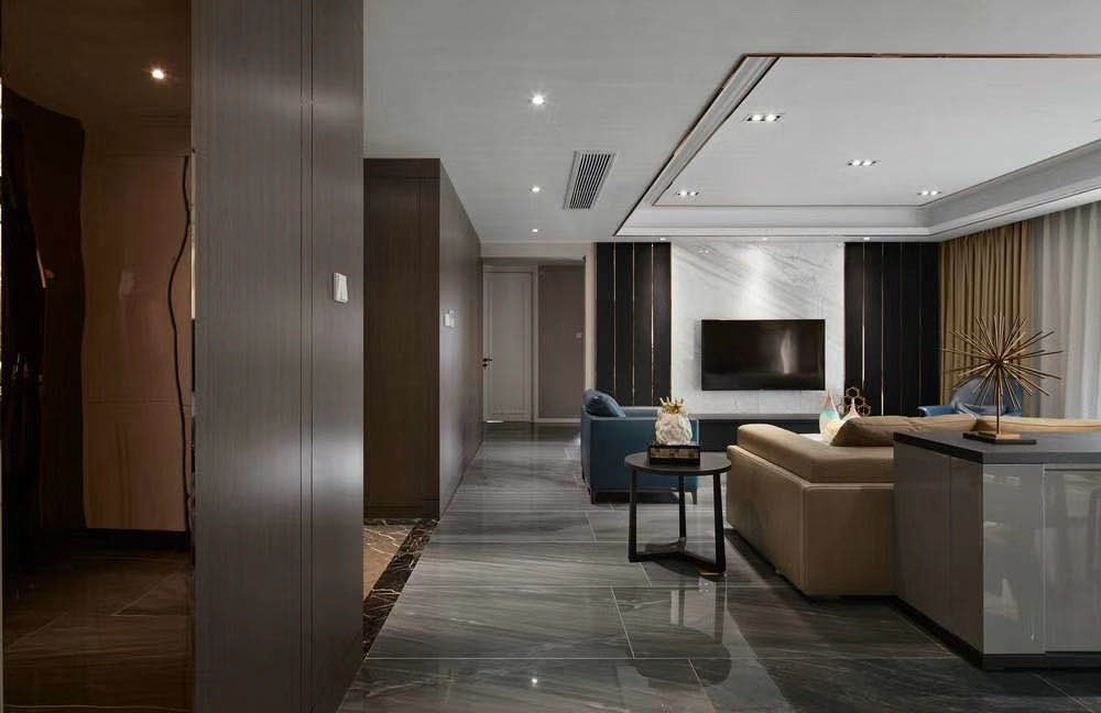 2020現代簡約240平米裝修圖片 2020現代簡約三居室裝修設計圖片