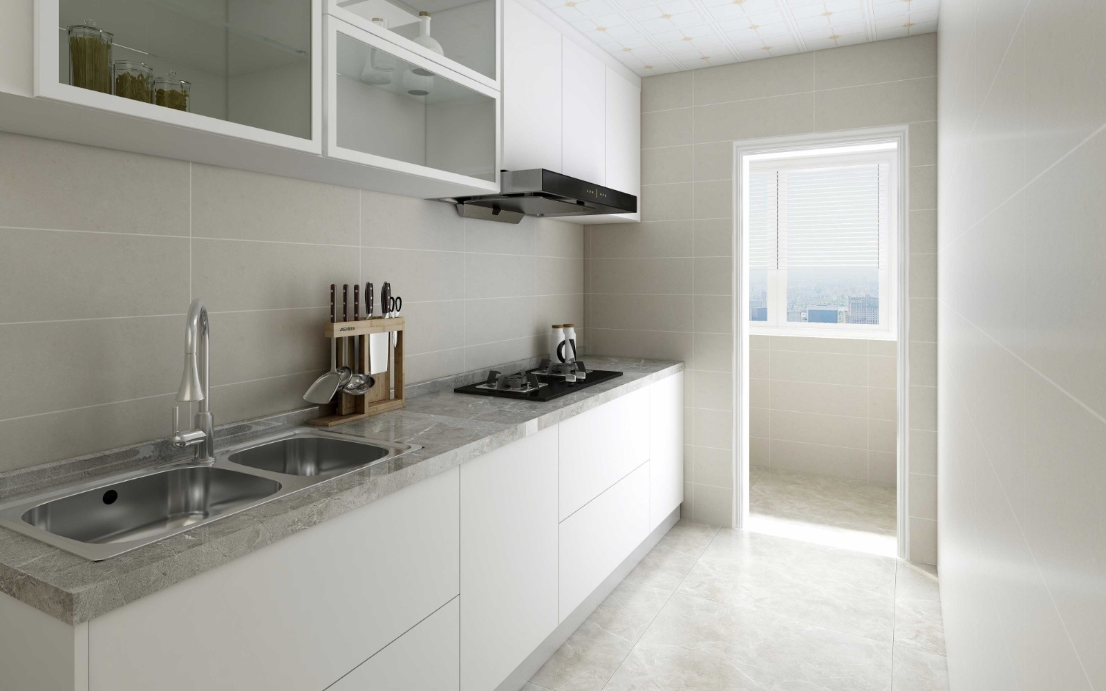 2021新中式厨房装修图 2021新中式厨房岛台装饰设计