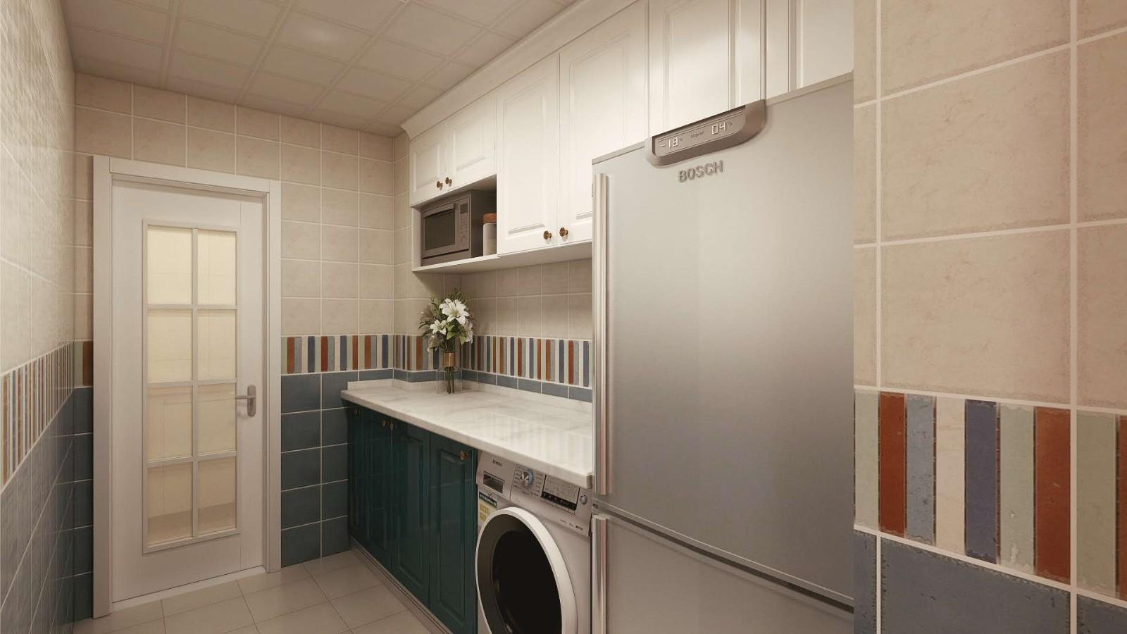2020美式廚房裝修圖 2020美式櫥柜裝修效果圖片