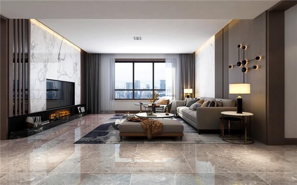2021现代150平米效果图 2021现代楼房图片