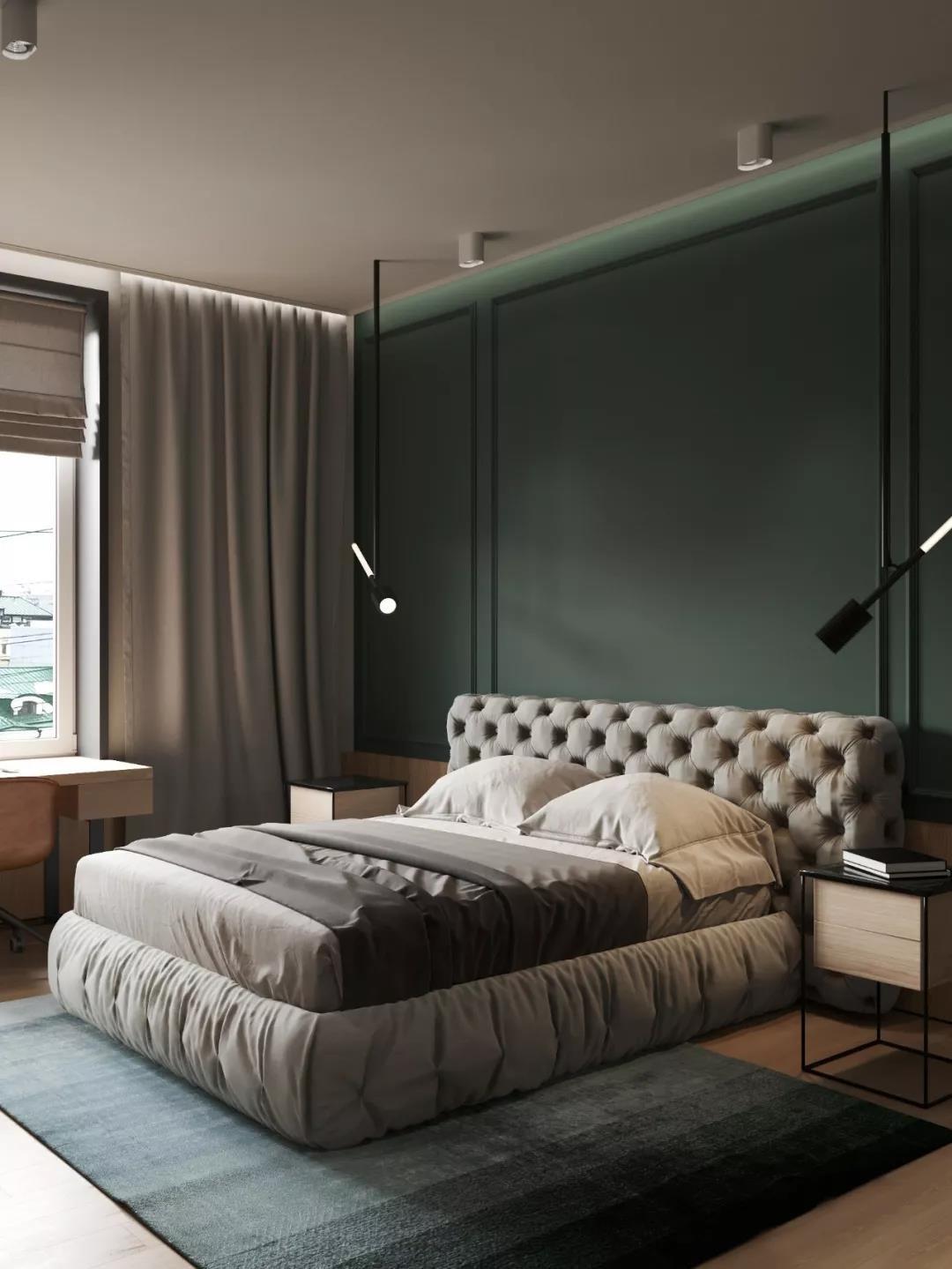 2021新古典卧室装修设计图片 2021新古典梳妆台装修设计