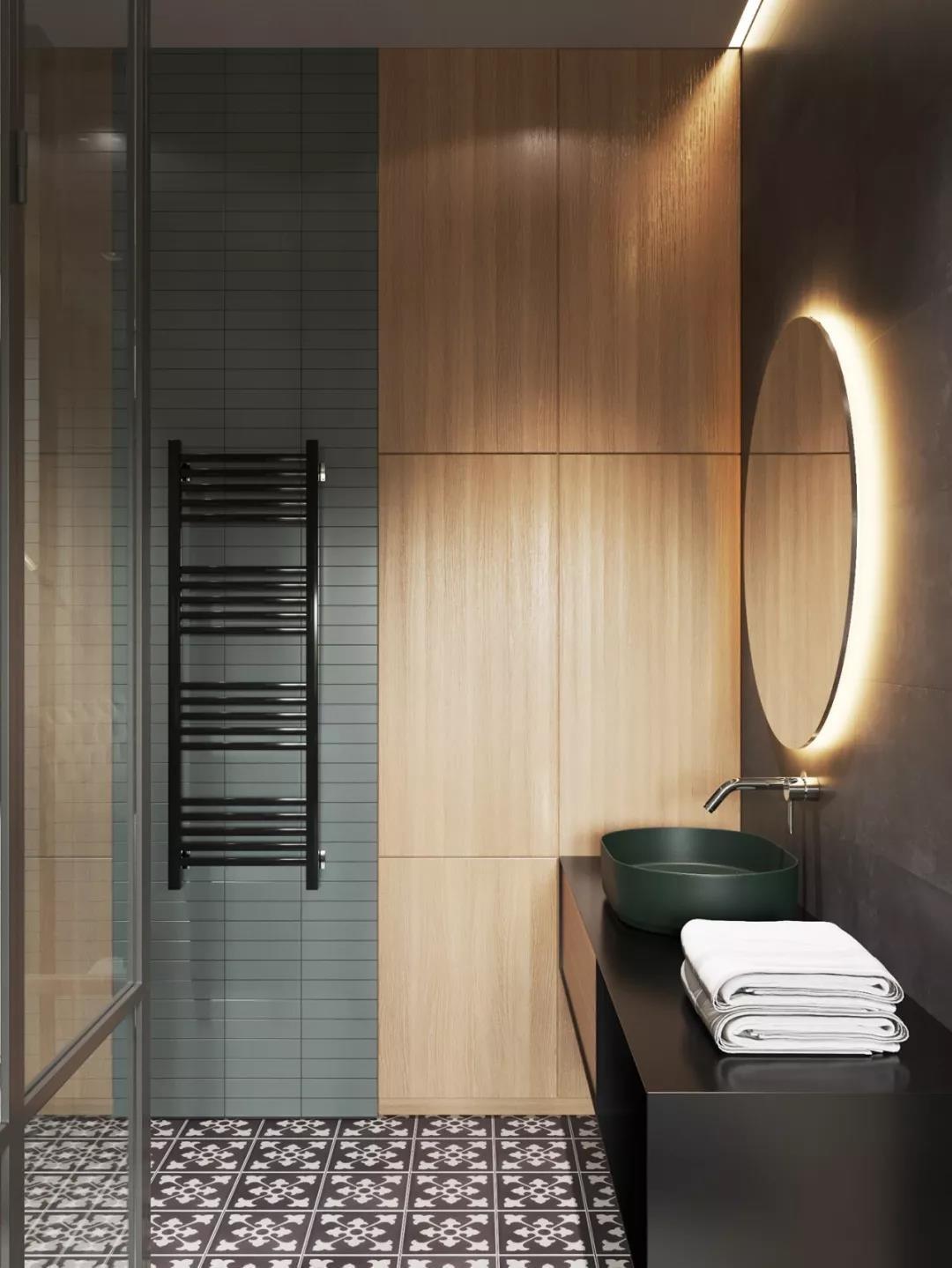 2021新古典卫生间装修图片 2021新古典洗漱台装饰设计