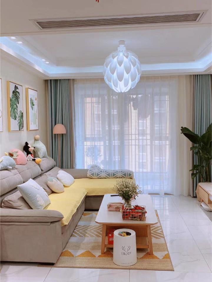 2021韩式110平米装修设计 2021韩式二居室装修设计