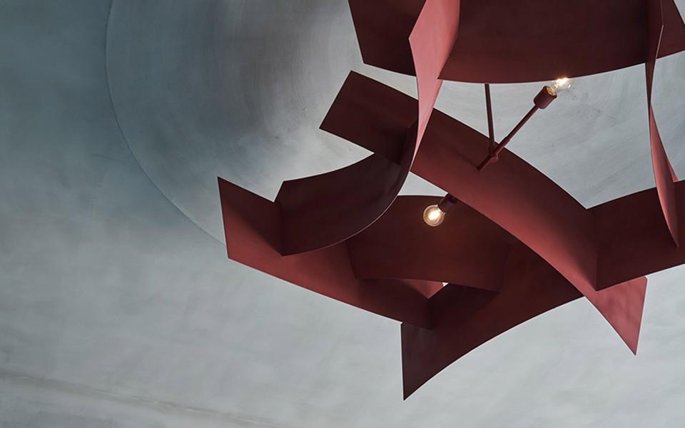2020工业客厅装修设计 2020工业灯具图片