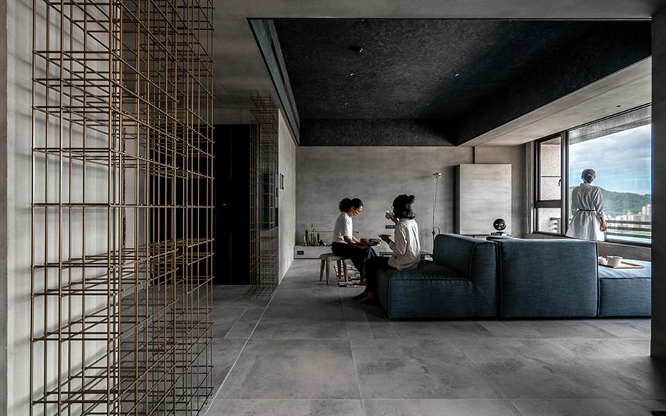2020工业客厅装修设计 2020工业细节装饰设计