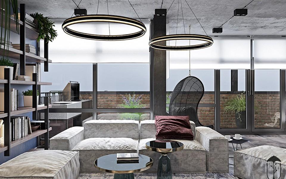 2020工业书房装修设计 2020工业沙发装修设计