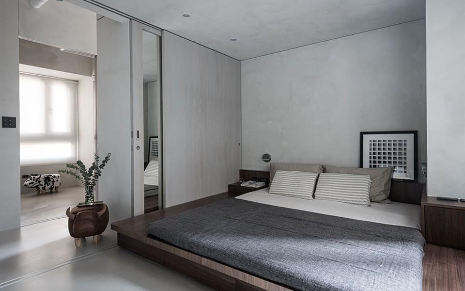 2020工业卧室装修设计图片 2020工业床图片
