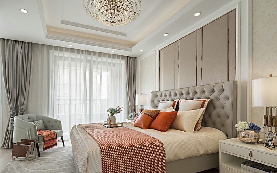 2021欧式240平米装修图片 2021欧式三居室装修设计图片