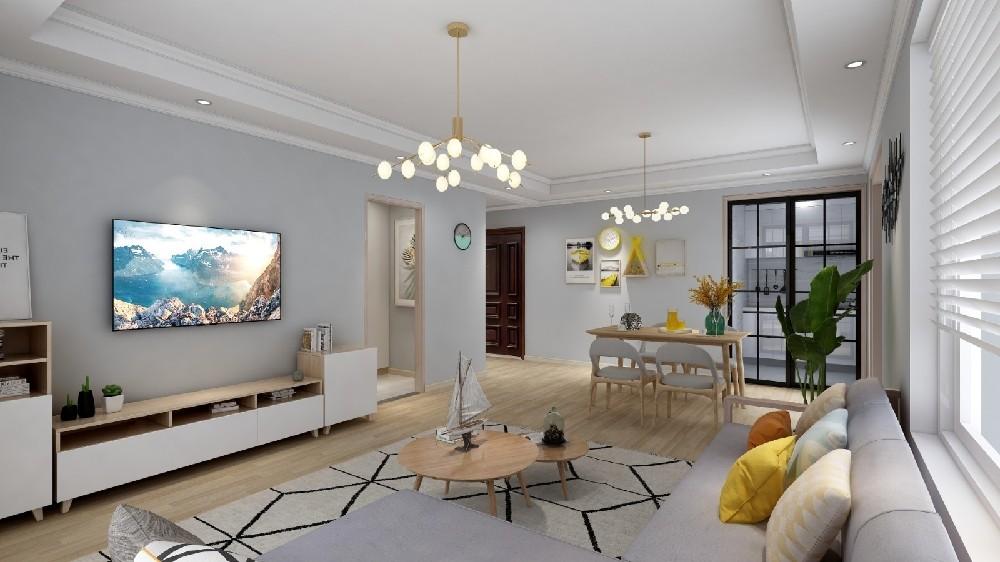 3室2卫2厅142平米欧式风格