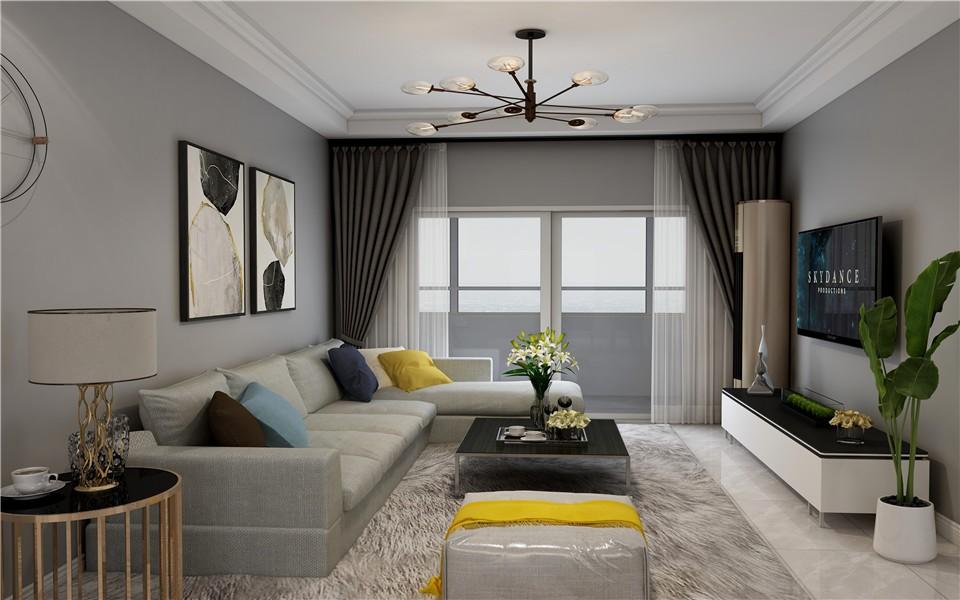 2020北歐110平米裝修設計 2020北歐樓房圖片