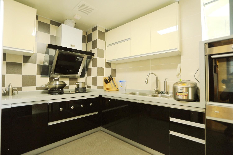2020中式厨房装修图 2020中式灶台装修图片