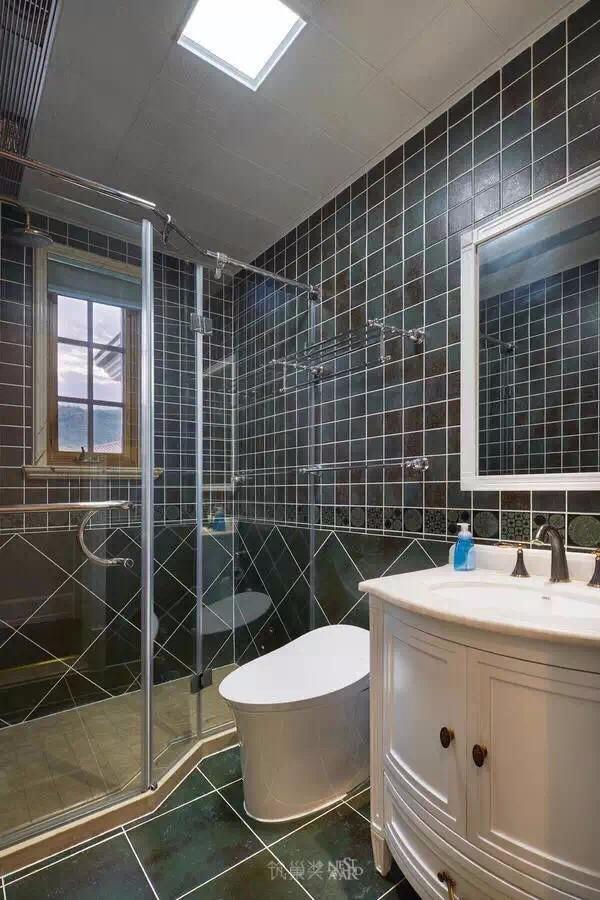2021混搭浴室设计图片 2021混搭浴缸装修效果图大全