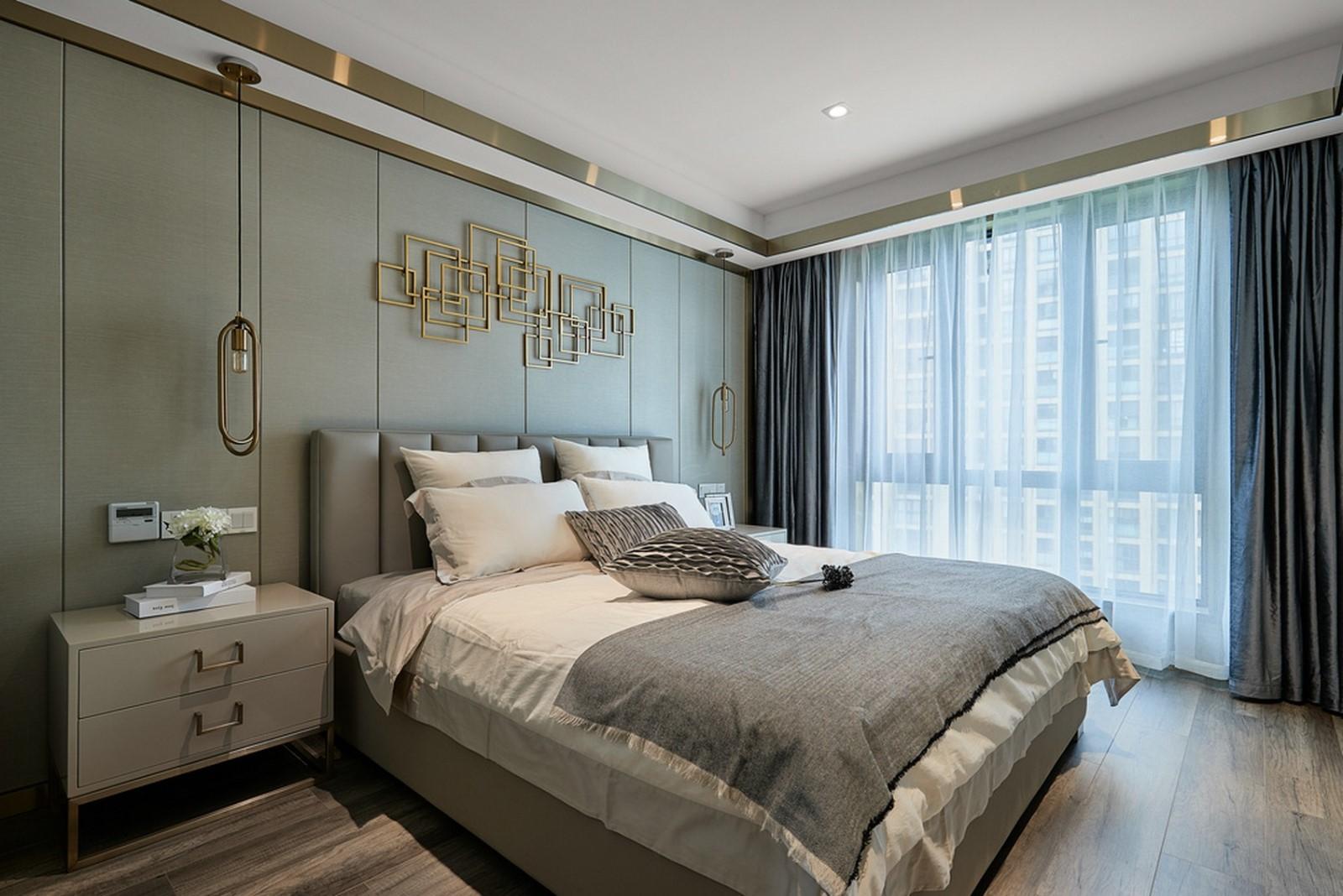 2020后現代起居室裝修設計 2020后現代背景墻裝修設計