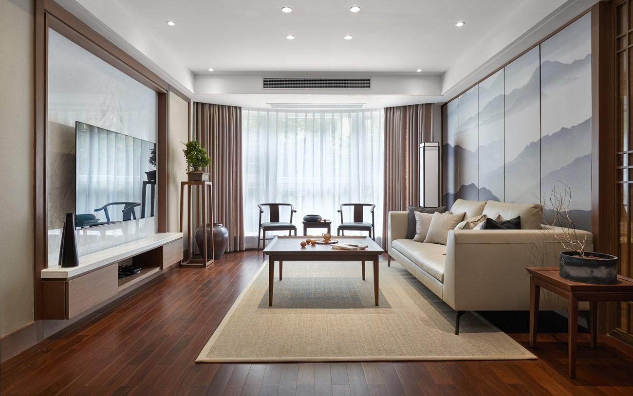 2021中式古典客厅装修设计 2021中式古典背景墙装修设计