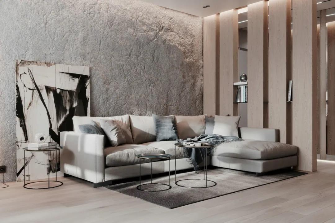85㎡精巧簡雅住宅,沁入人心的質感美!