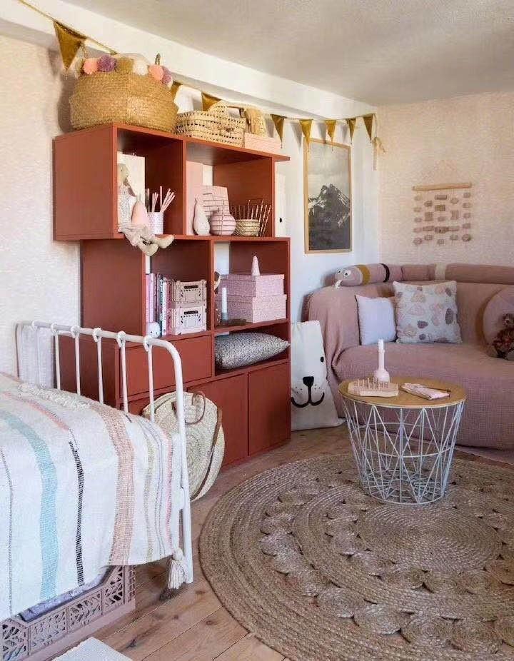 2020北欧卧室装修设计图片 2020北欧书架装修效果图大全