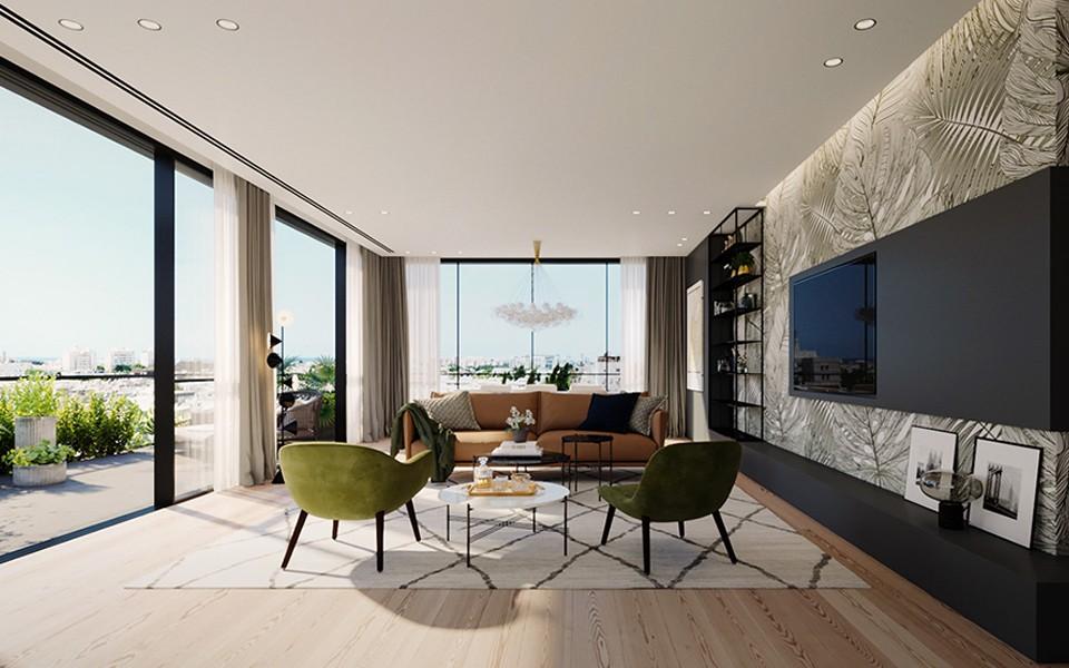2020北歐客廳裝修設計 2020北歐落地窗裝修圖片
