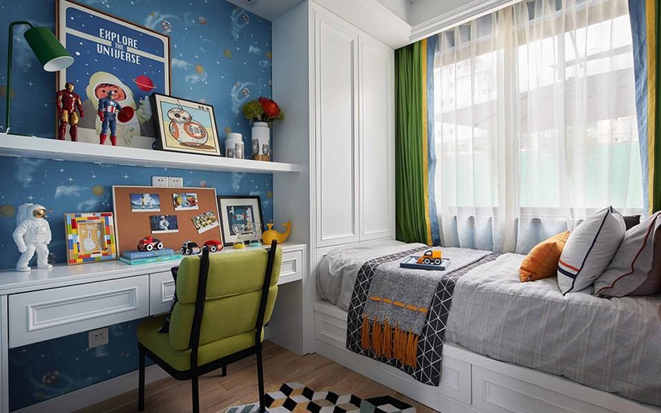 2020欧式儿童房装饰设计 2020欧式床效果图