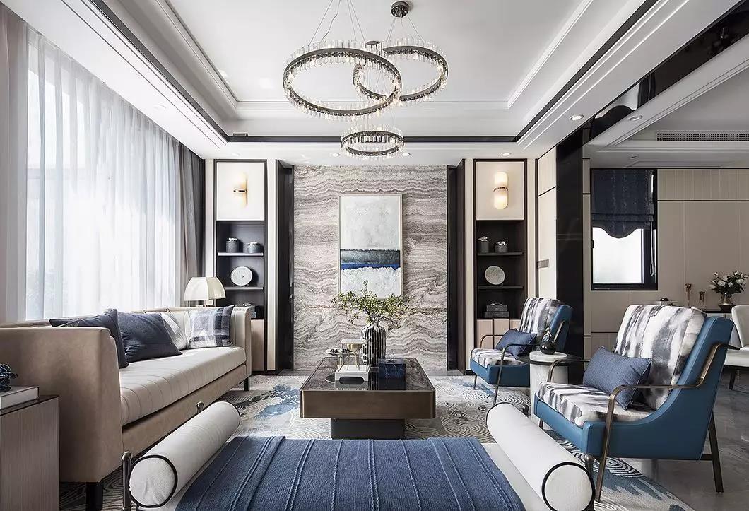 2020新中式客廳裝修設計 2020新中式燈具圖片