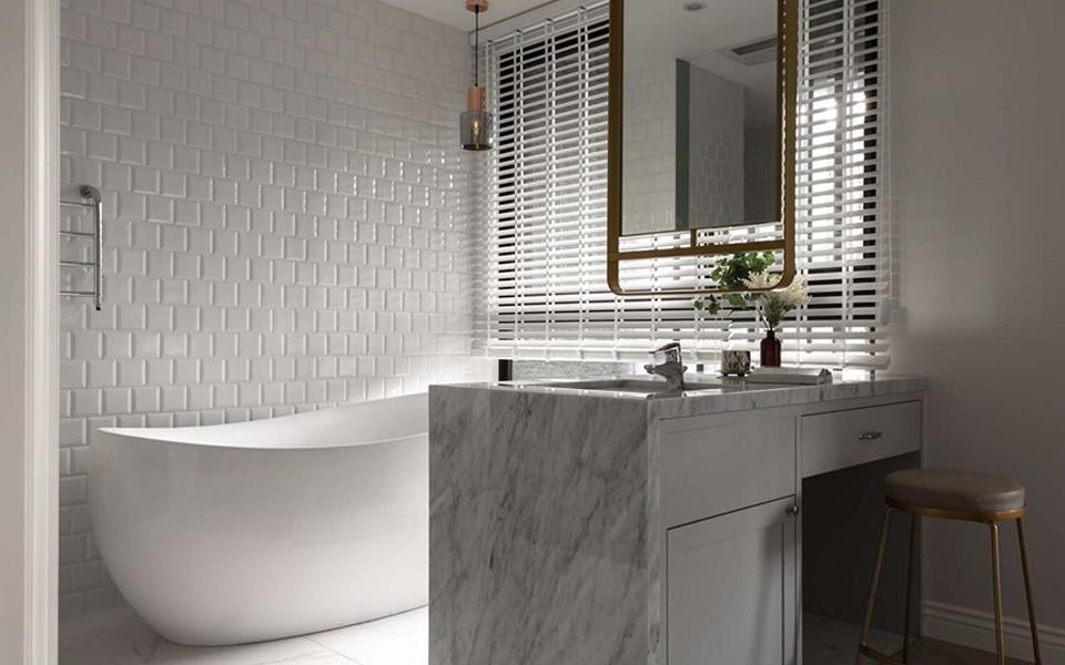 2021美式浴室设计图片 2021美式浴缸装修效果图大全