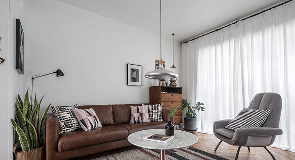 2021欧式90平米装饰设计 2021欧式二居室装修设计