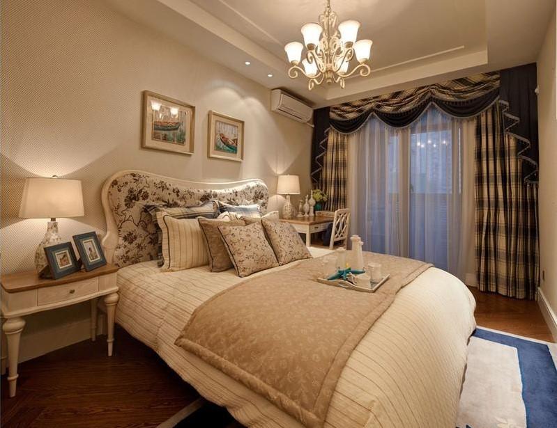 2020欧式卧室装修设计图片 2020欧式照片墙装修图