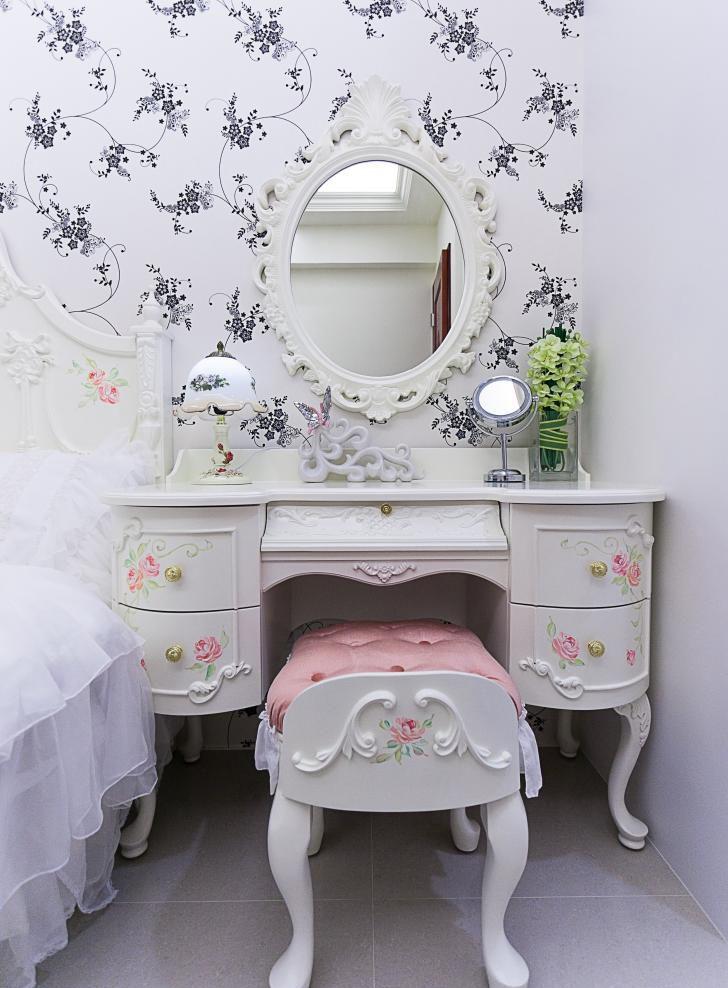 2021欧式卧室装修设计图片 2021欧式梳妆台装修设计