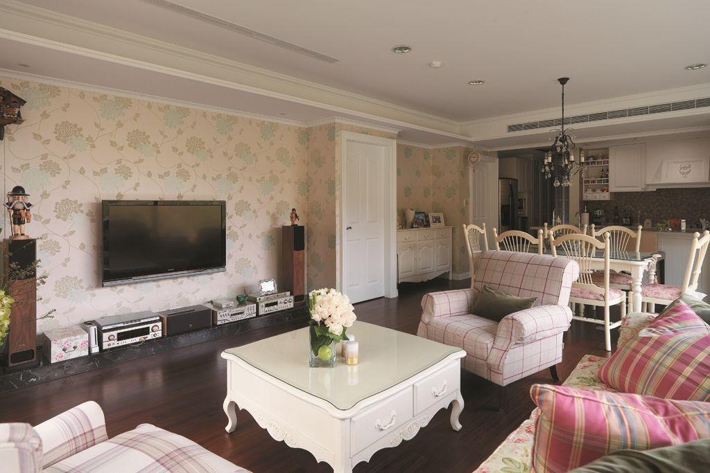 歐式120平米三居室裝修效果圖