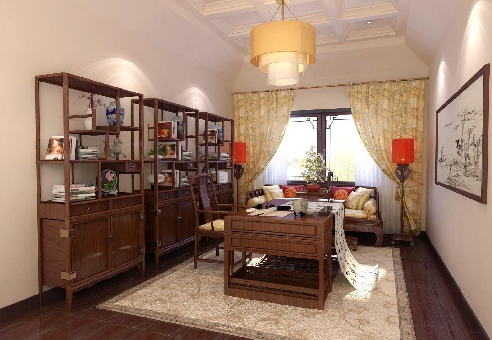 2室1卫1厅80平米新中式风格