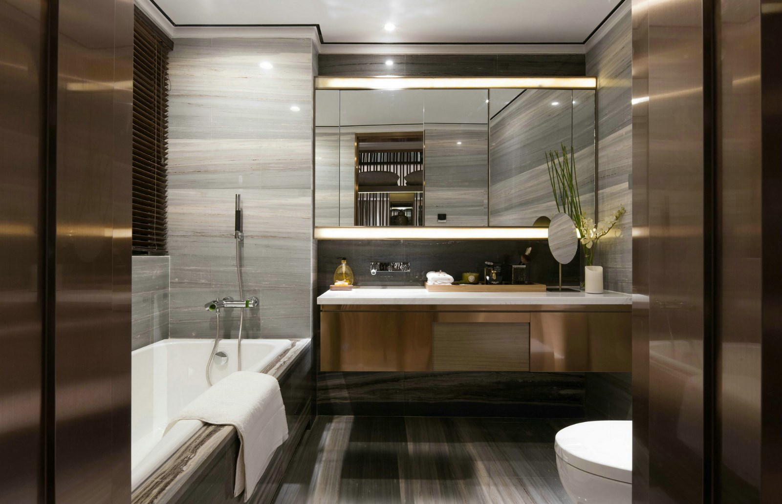 2021新中式浴室设计图片 2021新中式细节装饰设计