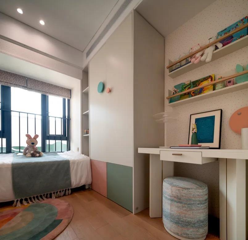2020新中式兒童房裝飾設計 2020新中式書架裝飾設計