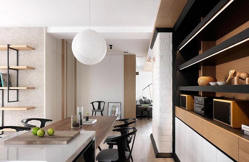 2020現代簡約餐廳效果圖 2020現代簡約燈具裝修效果圖片