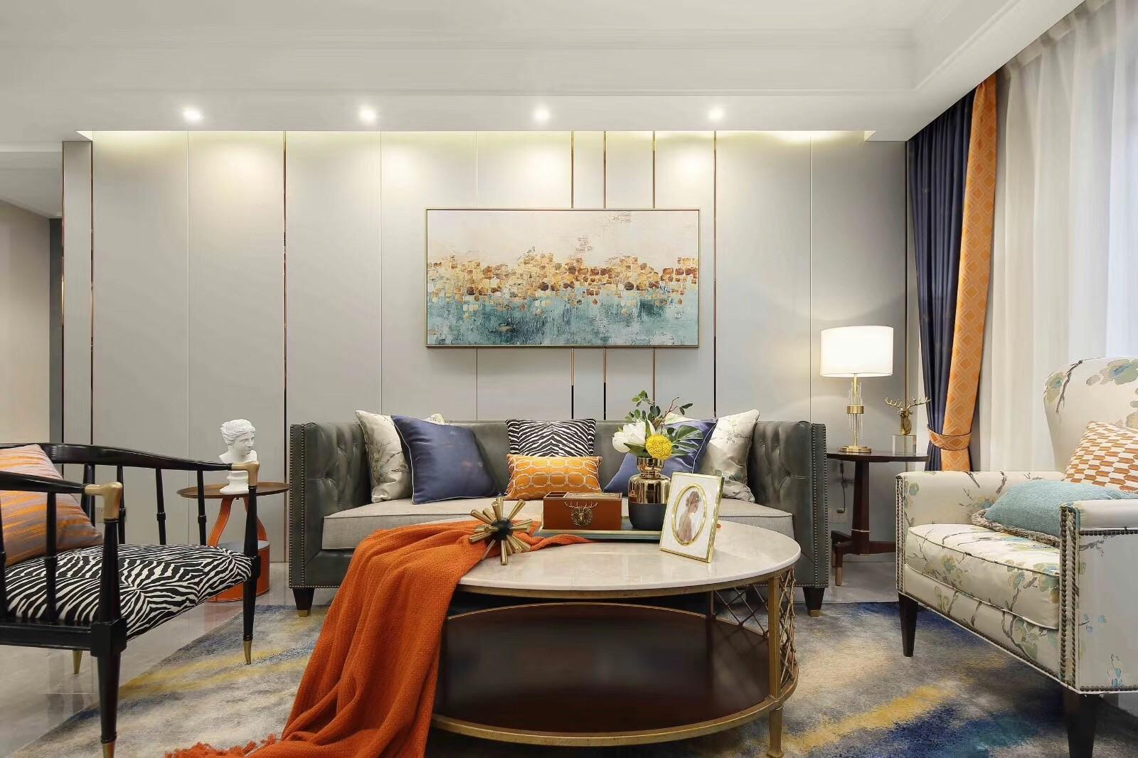 2021简单客厅装修设计 2021简单沙发装修设计