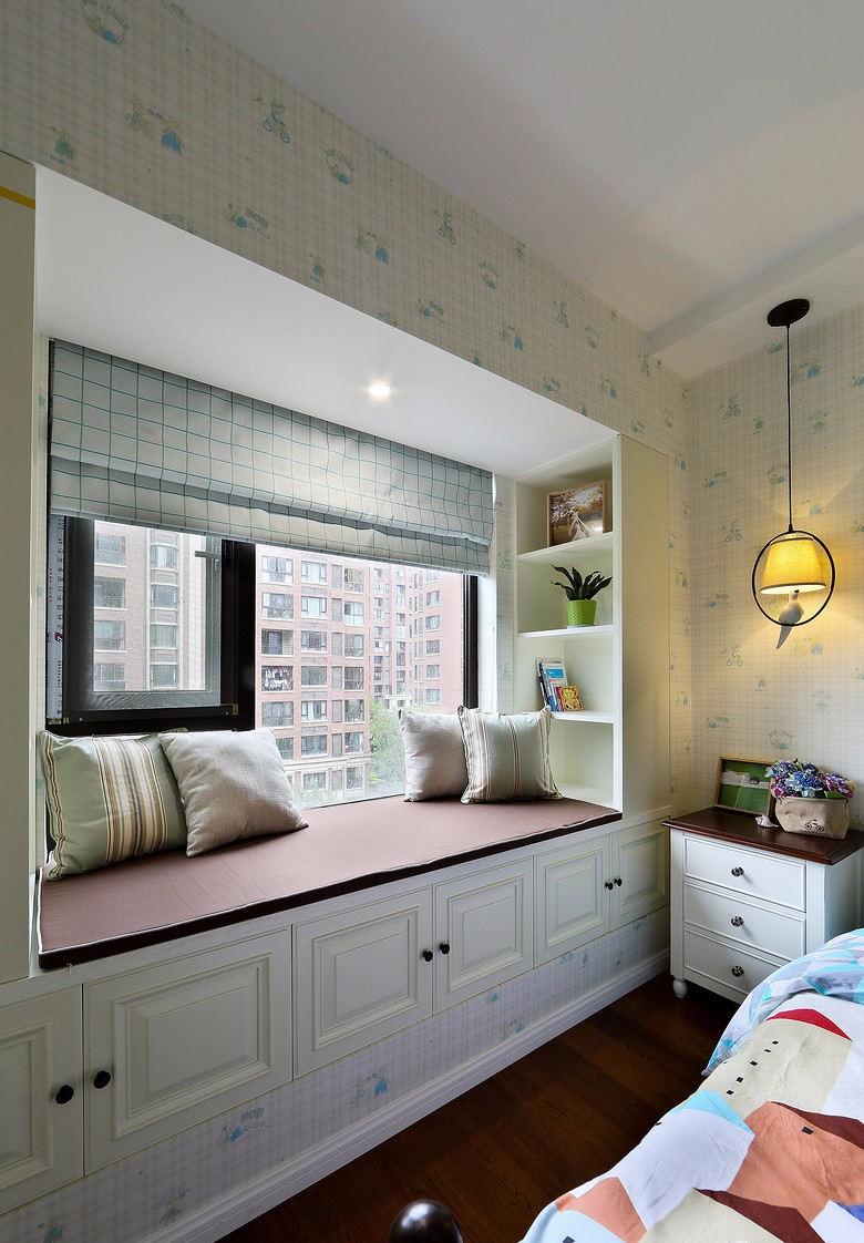 2020田园卧室装修设计图片 2020田园飘窗图片