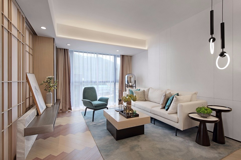 2021中式110平米装修设计 2021中式二居室装修设计