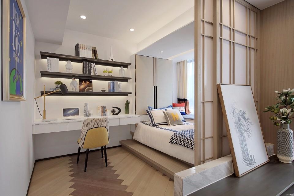 2020中式卧室装修设计图片 2020中式榻榻米装修设计