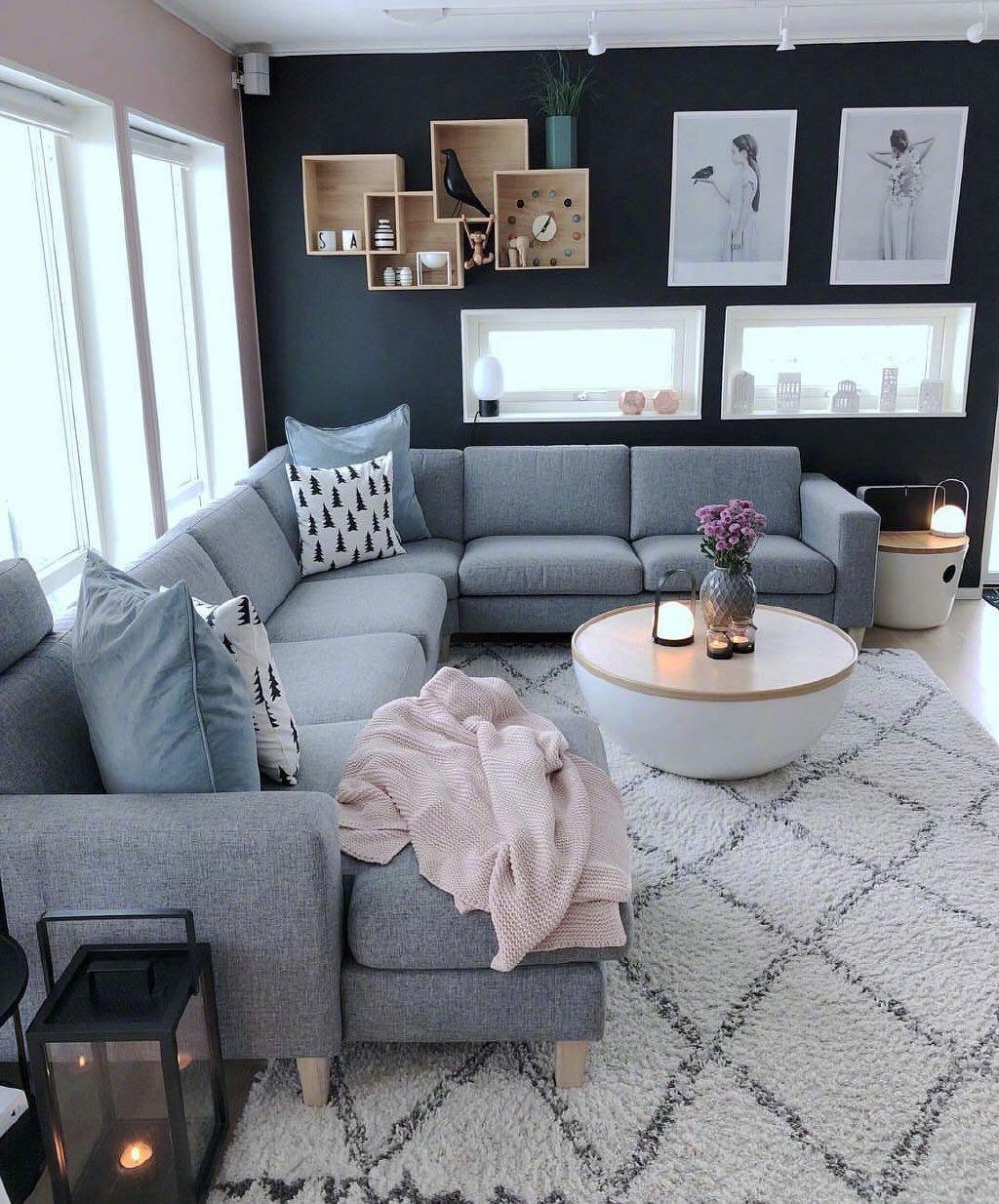 2020现代客厅装修设计 2020现代窗台设计图片
