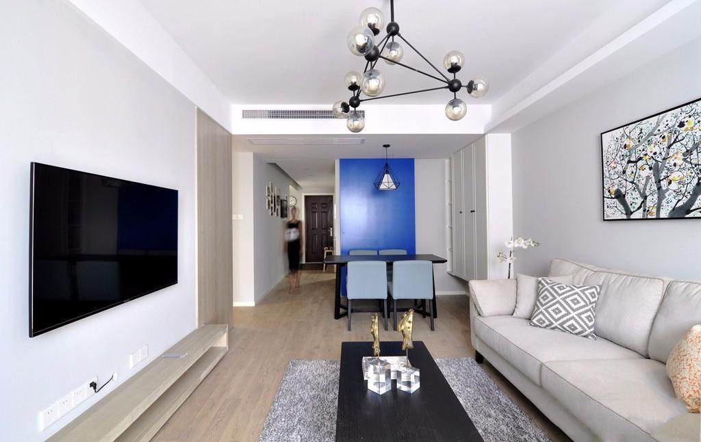 2021现代简约110平米装修设计 2021现代简约二居室装修设计