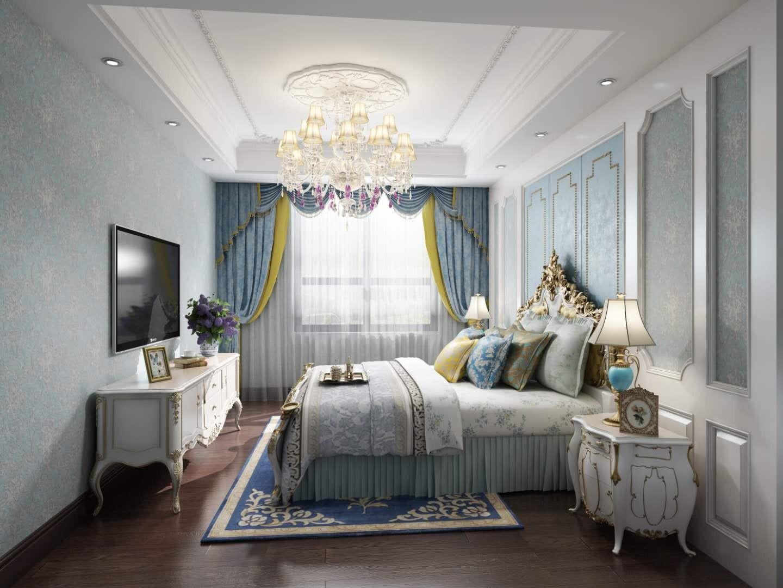 2020欧式卧室装修设计图片 2020欧式背景墙装修设计