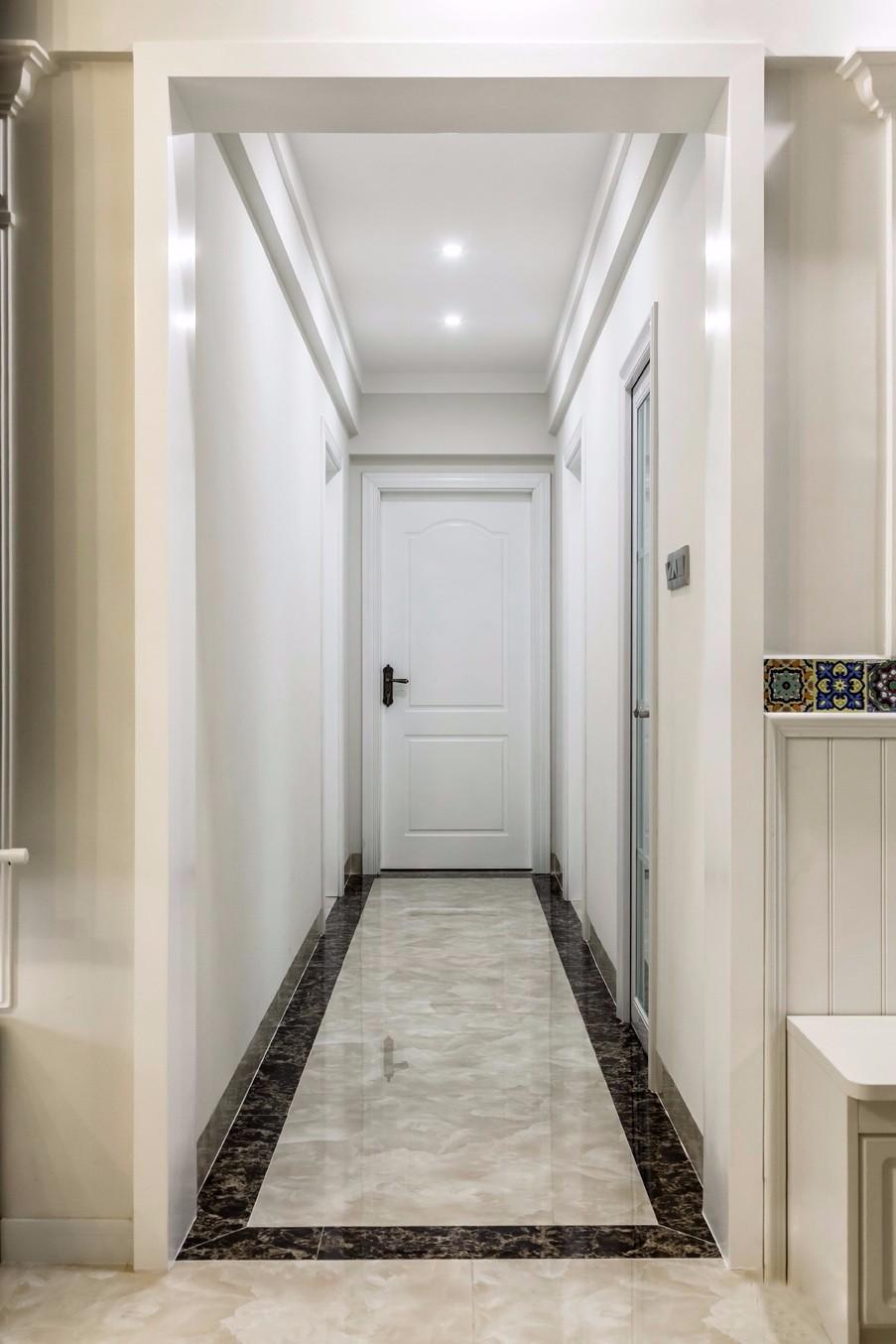 2020簡歐玄關圖片 2020簡歐走廊裝修效果圖片
