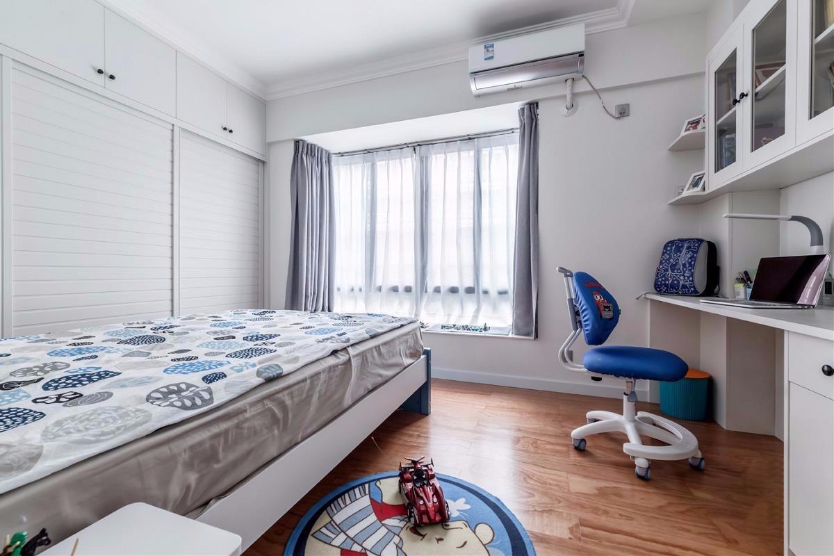 2020簡歐兒童房裝飾設計 2020簡歐書桌裝修圖