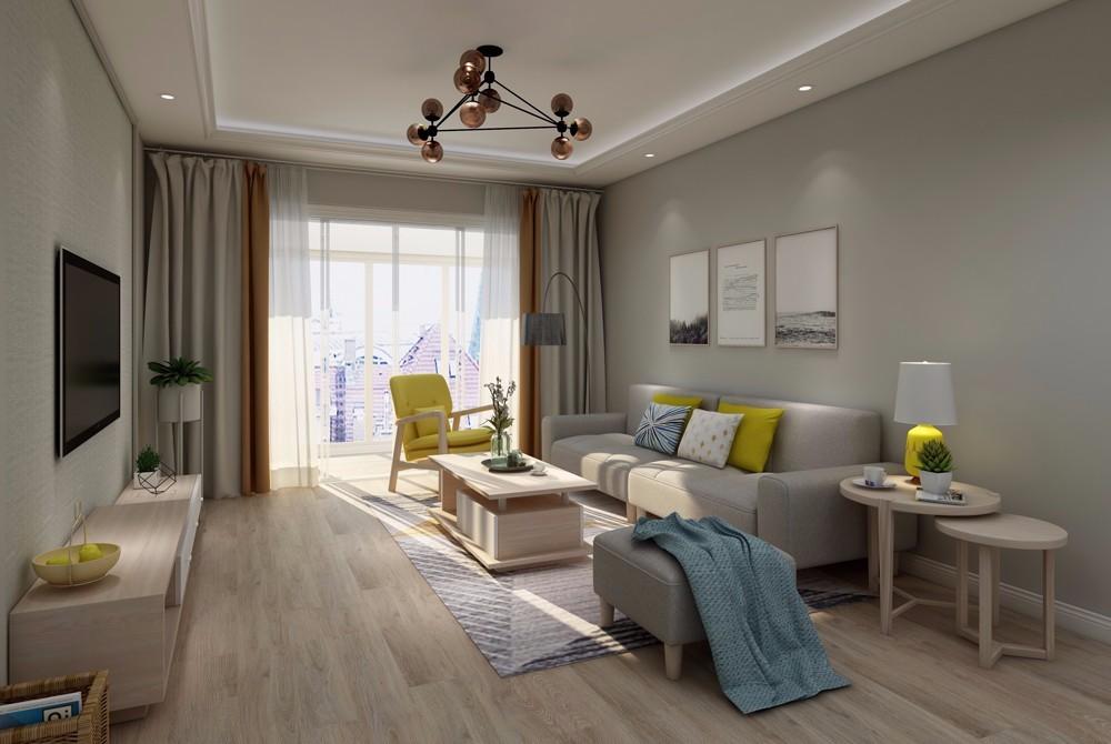 2020简欧110平米装修设计 2020简欧二居室装修设计
