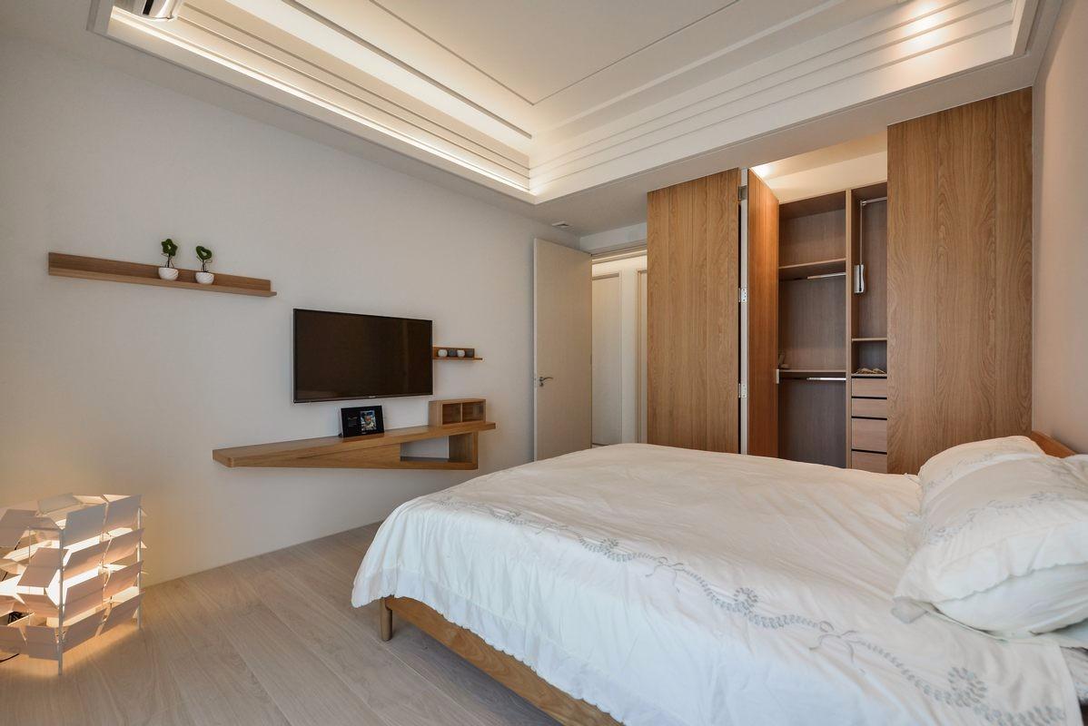 2020日式卧室装修设计图片 2020日式吊顶效果图