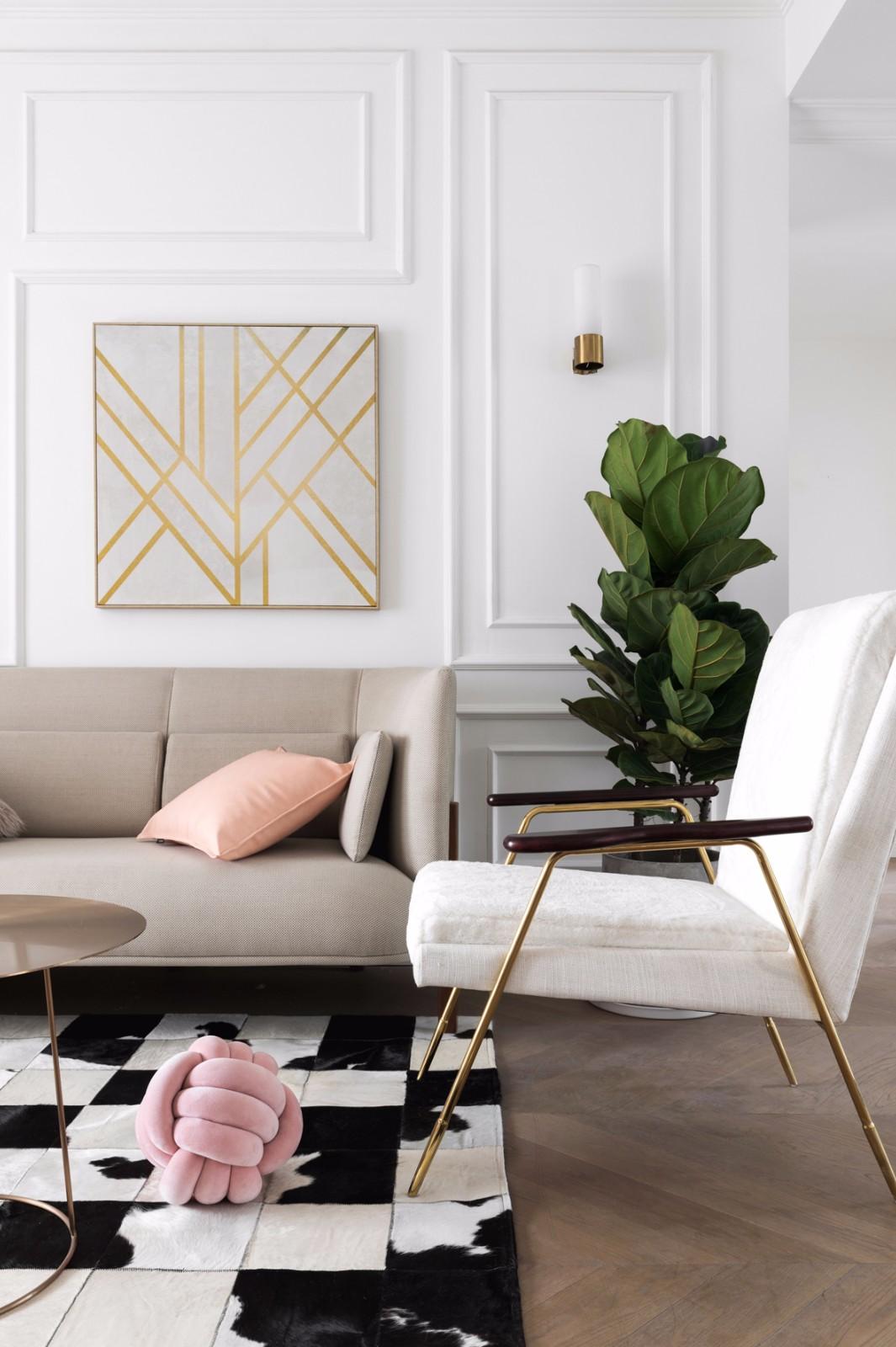2020现代简约客厅装修设计 2020现代简约沙发装修设计