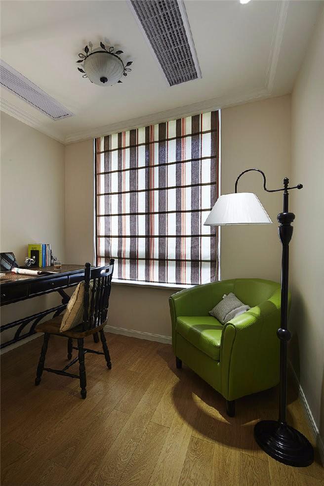 2020美式书房装修设计 2020美式地板装修图