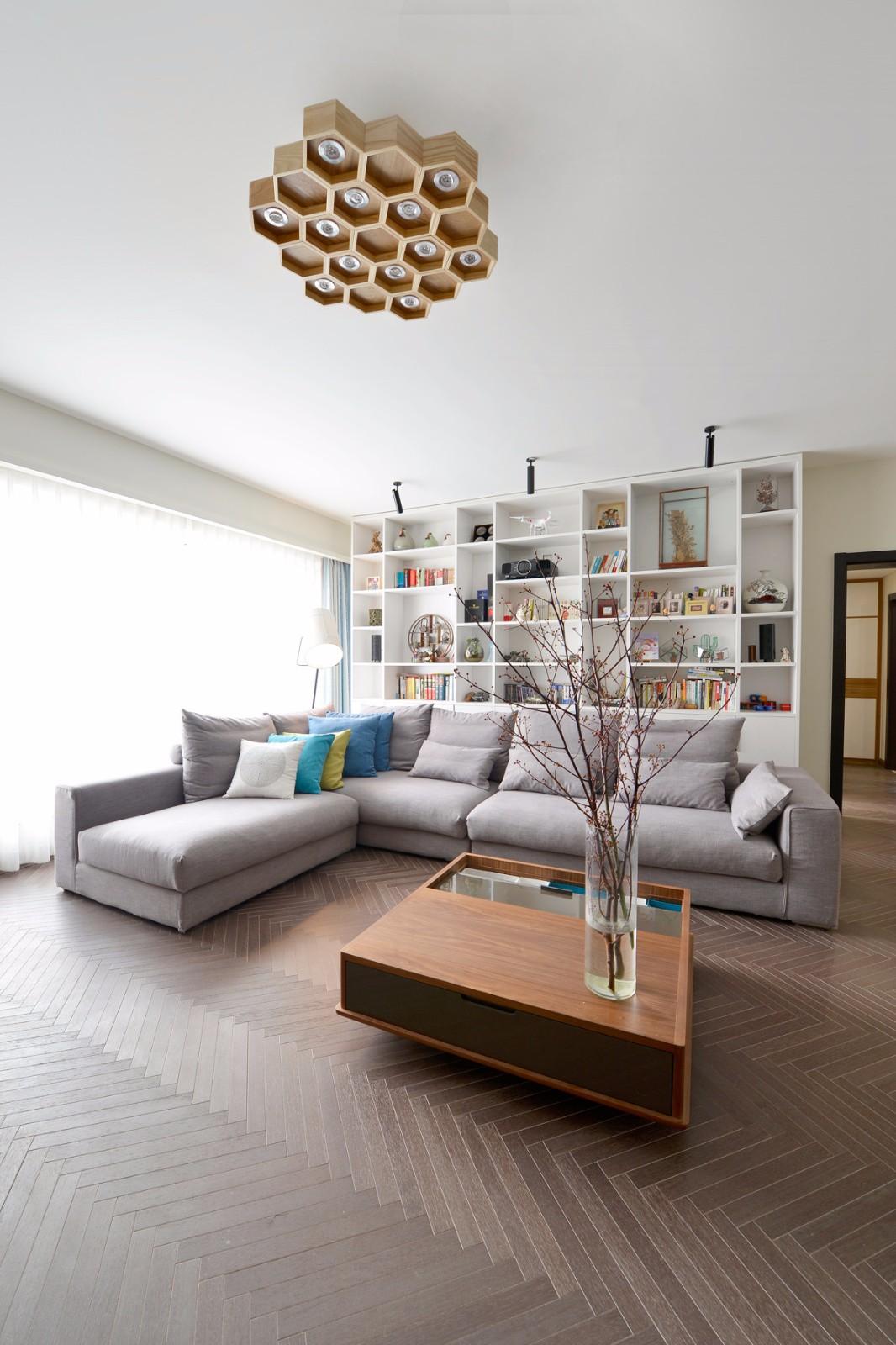 簡約140平三居室裝修效果圖