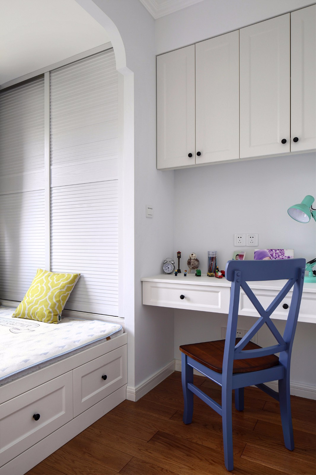 2020美式卧室装修设计图片 2020美式书桌装修图
