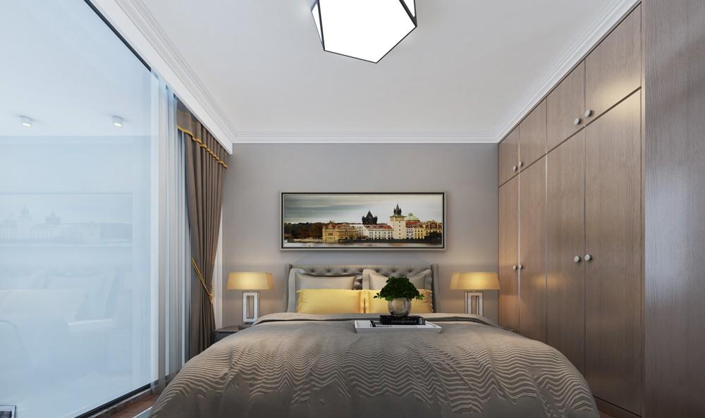 2020北歐臥室裝修設計圖片 2020北歐落地窗圖片