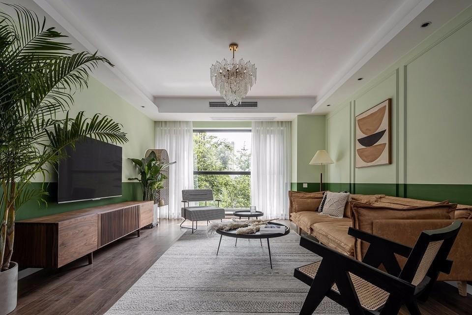 2020复古客厅装修设计 2020复古沙发装修设计