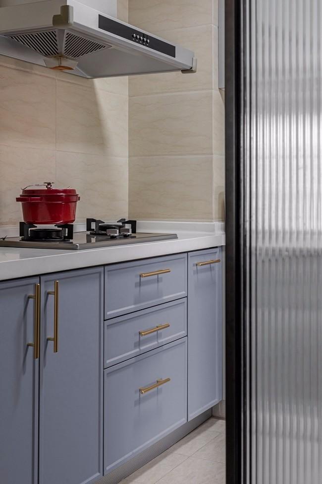 2021复古厨房装修图 2021复古地砖装修设计